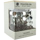 Locker Style Accessories - Chandelier-Magnetic - Silver
