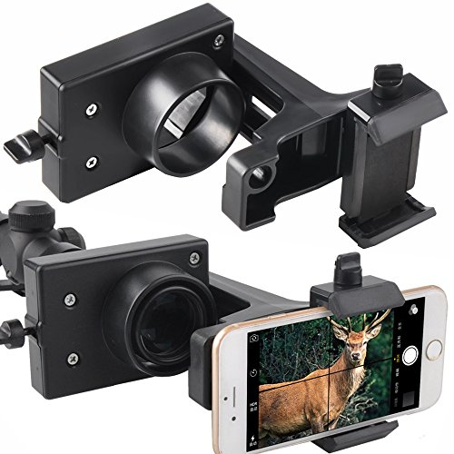 Rifle Scope Smartphone Mount Adapter for Semi Auto Rifles -