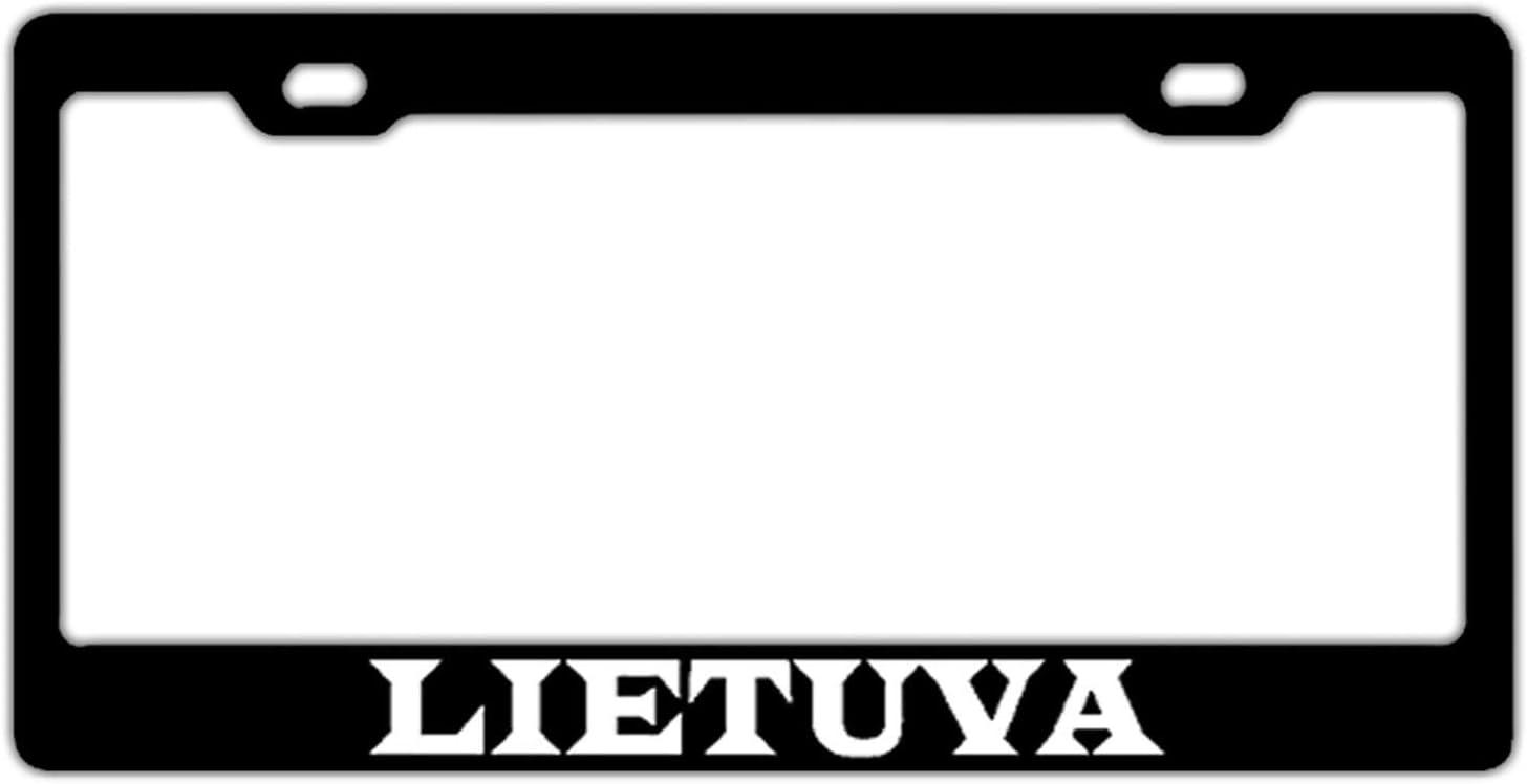 License Plate Holder Aluminum Metal License Plate Frame Funny License Tag Holder Humor 2 Hole and Screws