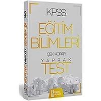İsem 2020 KPSS Eğitim Bilimleri Çek Kopar Yaprak Test