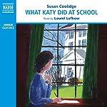What Katy Did at School   Susan Coolidge