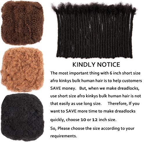 Afro kinky bulk human hair wholesale _image2