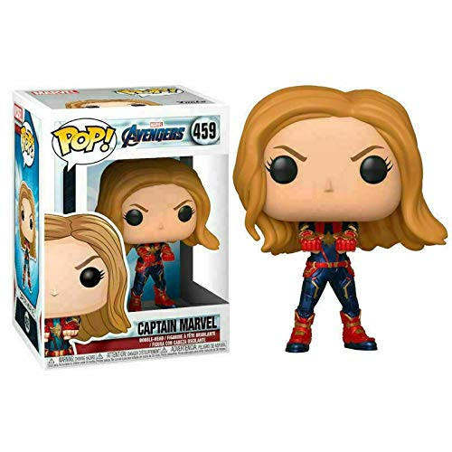Amazon.com: Funko Pop. Marvel: Avengers Endgame - Capitán ...