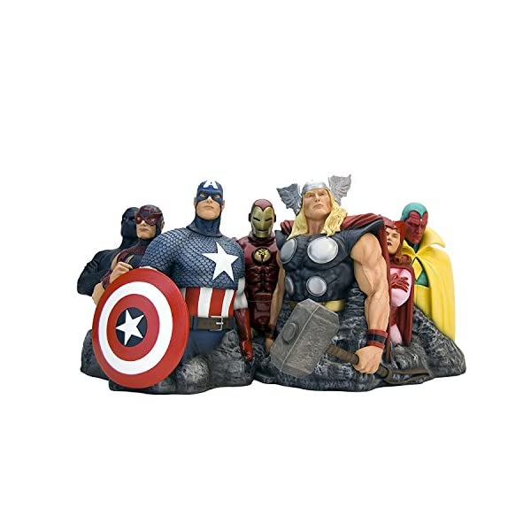Factory Entertainment Alex Ross Marvel Comics Avengers Assemble Fine Art Sculpture