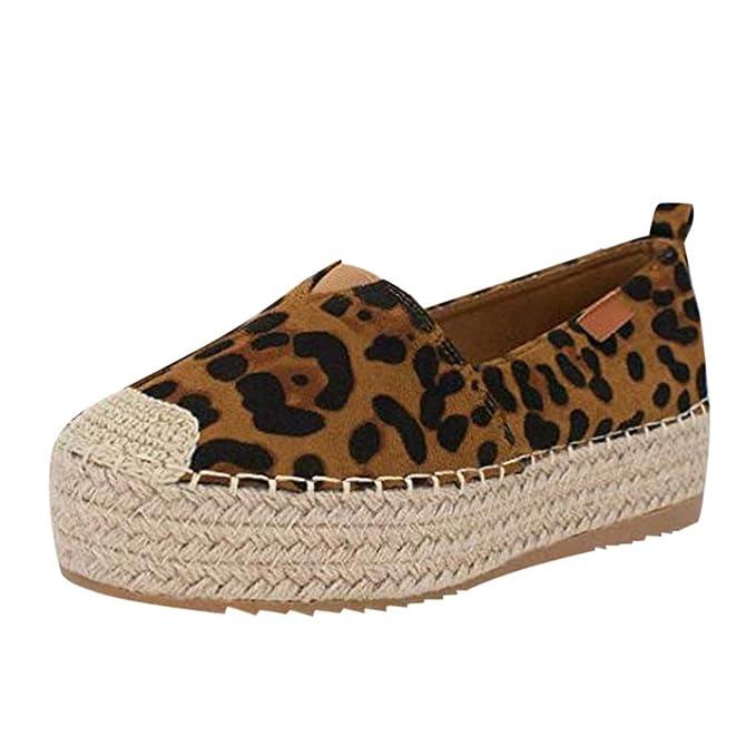 Zapatos Mujer Planas,VECDY2019 Moda Zapatillas Plataforma ...