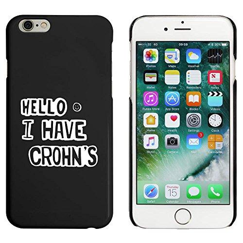 Noir 'Crohn's' étui / housse pour iPhone 6 & 6s (MC00049525)