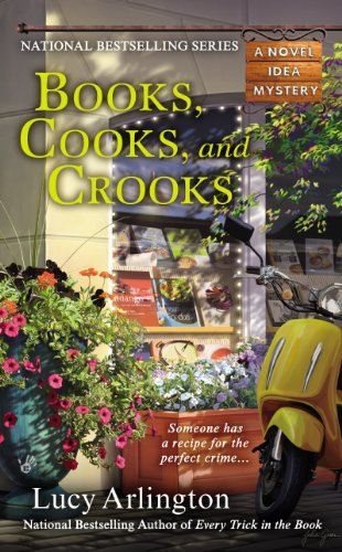 Books, Cooks, and Crooks (A Novel Idea Mystery Book 3)