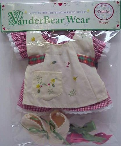 Hoppy Vanderhare New England Country Christmas Outfit (Muffy Vanderbear) North American Bear 4456