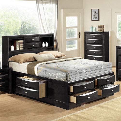 Amazon.com: Giantex Moderno juego de muebles de dormitorio ...