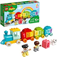 LEGO DUPLO My First Number Train - Learn to Count 10954 Building Toy; Introduce Toddlers to Numbers and Counti