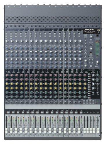 Mackie Onyx 1640 16-Ch./4-Bus Premium Small-Format Mixer - Mackie Mixer Board