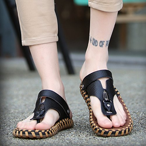 Zapatillas Orange Color Verano Zapatillas De Nuevas sandals Hombre Ocio Sandalias Corea Playa 4qTaR1n5