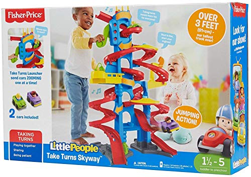 Fisher-Price Little People Take Turns Skyway (Fisher Price Little Wheelies Stand And Play)