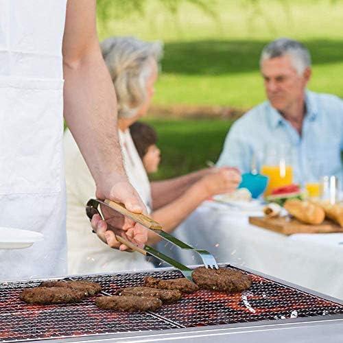 BUTTERFLYSILK Barbecue Grill BBQ Grill de Table et sur Pied Multifonction Grill au Charbon Pliant portatif pour Le Camping Garden-Party Pique-Nique en Plein air