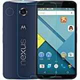 Dr Chen® Google nexus 6 Tempered Glass [HD Clear] [9H Hardness] [Anti-Scratch] Screen Protector For Google nexus 6