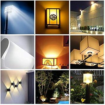 20W R7s LED Bulb 118mm LED COB Light 200W Halogen Equivalent J Type T3 R7s Base Dimmable Double Ended Floodlight Bulb Landscape Lights,4 Pack