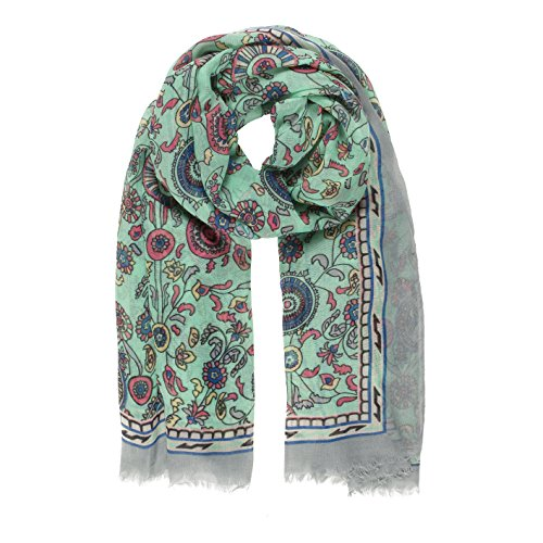 (Scarf for Women Lightweight Paisley Fashion Fall Winter Scarves Shawl Wraps (P042-10))