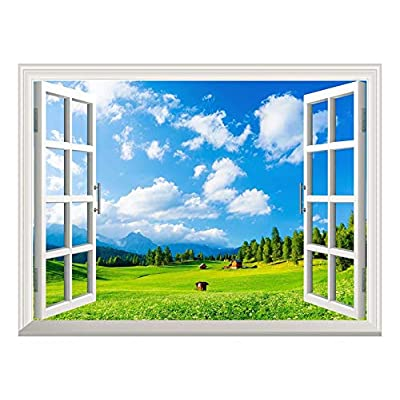Removable Wall Sticker Wall Mural Blue Sky and...36
