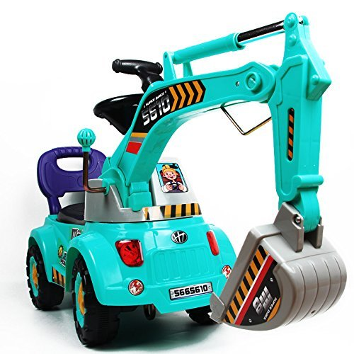 Digger Scooter Ride-on excavator Construction Truck by POCO DIVO