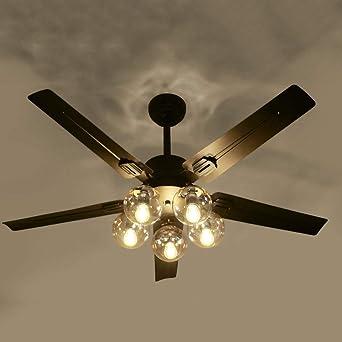 Ventilador de techo con luz ventilador de techo Magic Bean de 42 ...