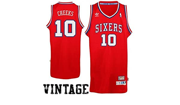 d0a53498780 Amazon.com  Philadelphia 76ers Maurice Cheeks Adidas Soul Swingman Jersey  (M)  Clothing