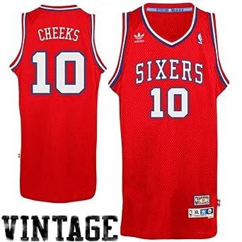 f7e091a45 Amazon.com  Philadelphia 76ers Maurice Cheeks Adidas Soul Swingman ...