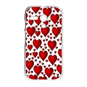 Polka-Dot-Design Motorola G Cell Phone Case White