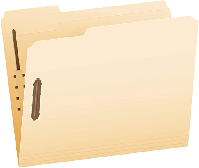 Business Source 2-ply Tab Kraft Fastener Folders