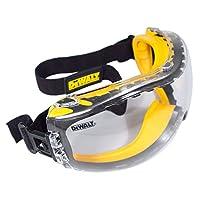 DEWALT DPG82-11 Concealer Clear Anti-Fog Dual Mold Safety Goggle 12