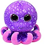 Ty Beanie Boos Legs Octopus Regular Plush, 4.5 Inch, Purple