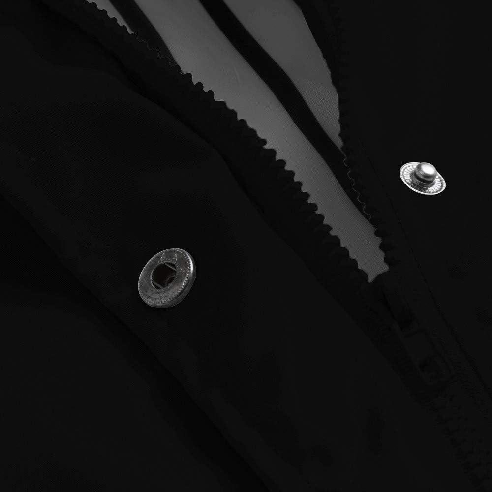 WOZOW Outdoor Waterproof Hooded Windbreaker Jacket for Women