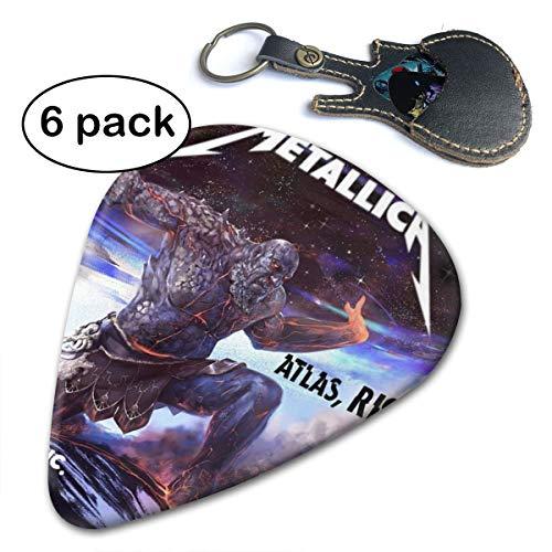 - PSnsnX Guitar Picks Metallica Guitar Accessories Celluloid Plectrums For Musice Gift Music Lover (6pc)