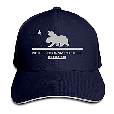 LCUCE New California Republic Snapback Hats Fitted Sandwich Cap Cap from LCUCE