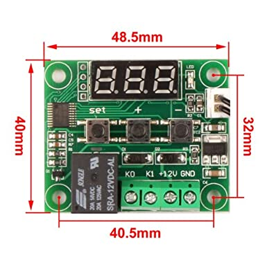 51VzEcTVKkL._SX385_ drok micro digital thermostat dc 12v 50 to 110& x2103  at n-0.co