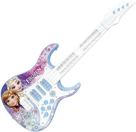 Guitarra de Brinquedo Com Luz e Som Frozen 2 Toyng 27191