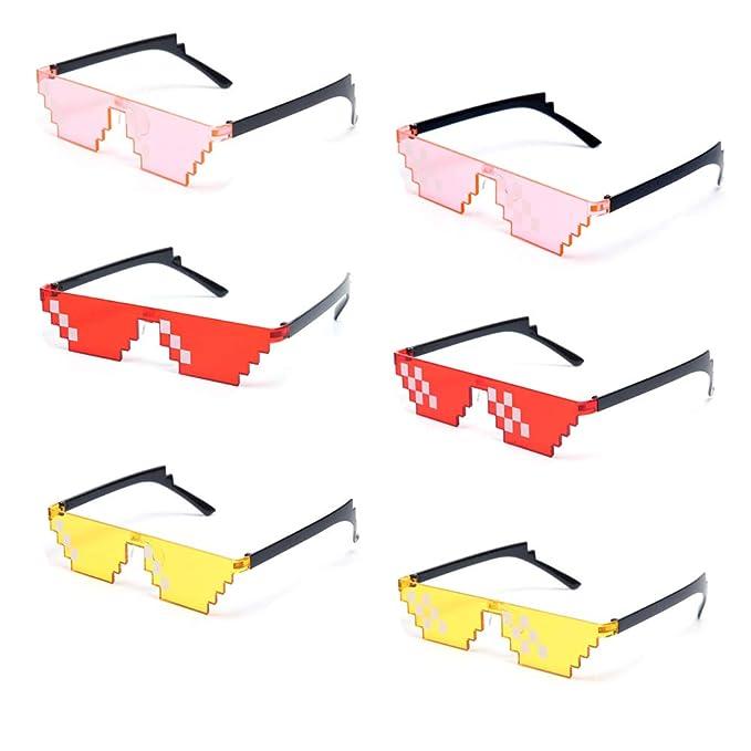 Amazon.com: Onnea Fashion - Juego de 8 gafas de sol unisex ...