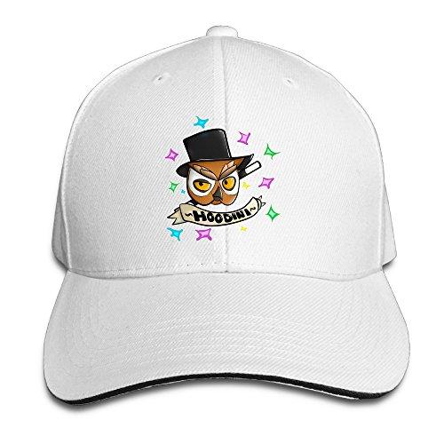 Rihanna Hard Costume (ACMIRAN Hoodini Vanoss Gaming Personalize Sandwich Peaked Cap One Size White)