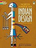 North American Indian Design Coloring Book (Dover Design Coloring Books)