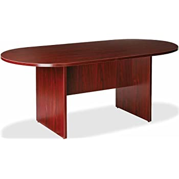 Amazoncom Lorell Oval Conference Table Top And Base By By - 72 inch round conference table