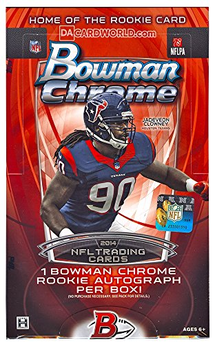 2014 Bowman Chrome Football Hobby Box (Bowmans Best Football Box)