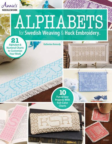 Alphabets For Swedish Weaving Huck Embroidery Annies Needlework