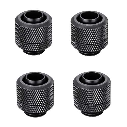 Chnaivy G1//4 Male to Male Extender Fitting 5mm Sliver 4-Pack