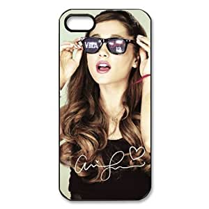 2015 customized Customize American Famous Singer Ariana Grande Back Case for iphone 5 5S JN5S-2469