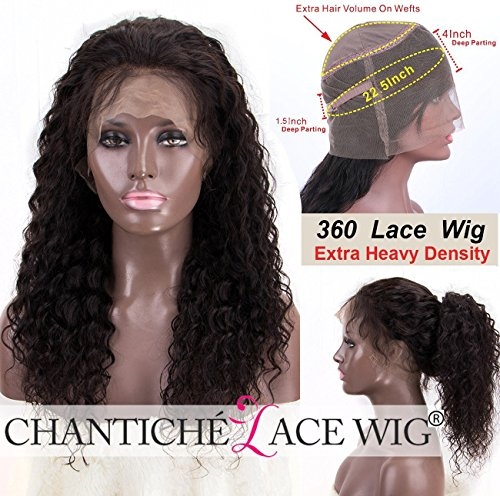 Chantiche Lace Wig Brazilian Customized