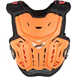 Leatt 4.5 Chest Protector (Orange/White, Junior)