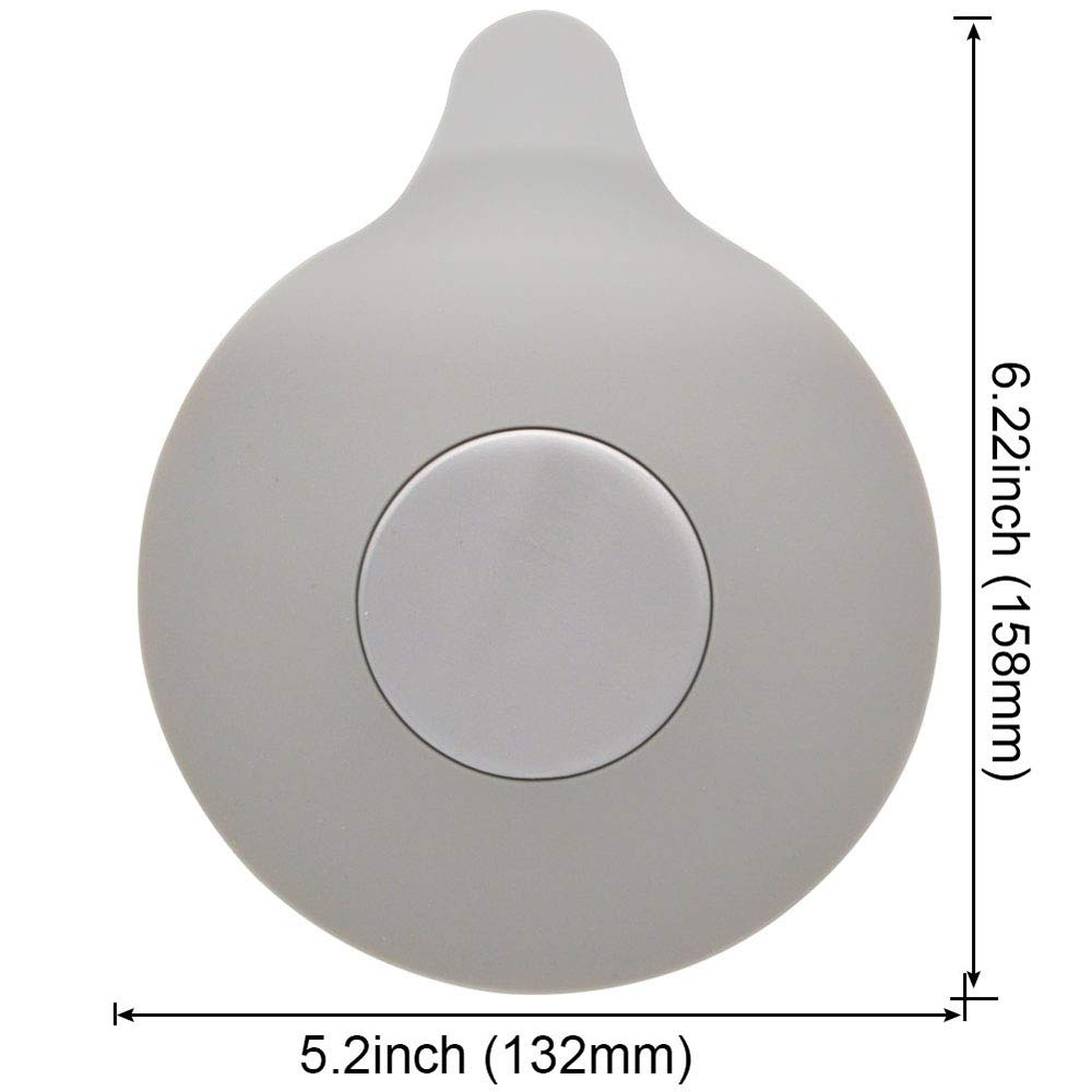 SZFREE Tap/óN De Drenaje De Silicona Tap/óN De Ba/ñEra De Piso Impermeable para Pileta De Fregadero Tapa De Piscina Ba/ñO De Cocina Trampa De Agua Universal Tapones De Drenaje