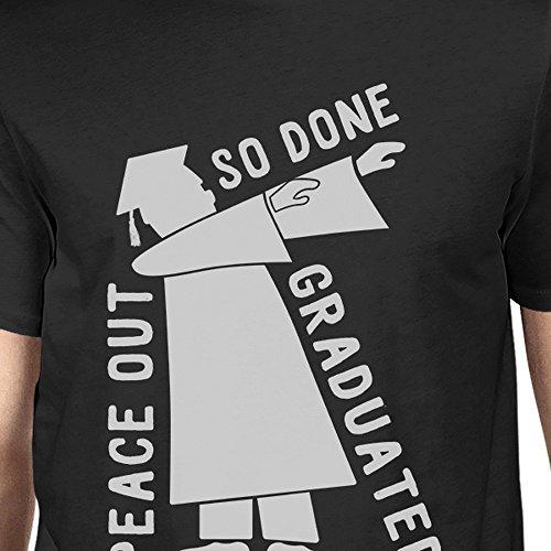Graduated Dance Black Printing hombre Dab manga Size corta para de One Camiseta 365 PzgSB