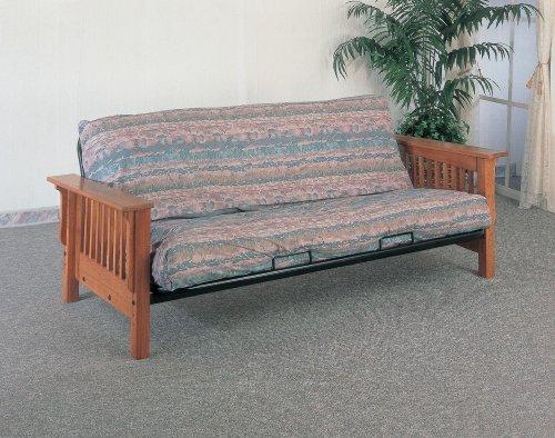 coaster-futon-frame-oak