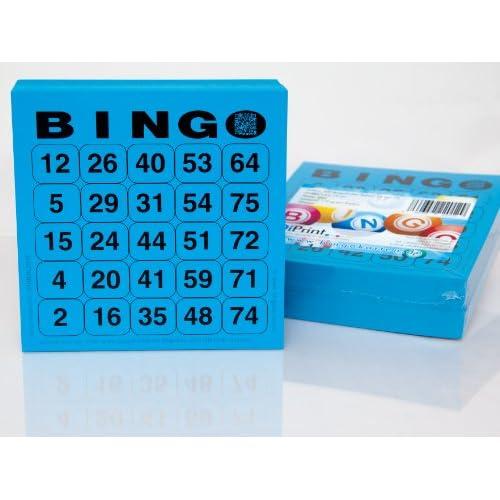 200 Grand Imprimé cartes de bingo Système 25 de 75