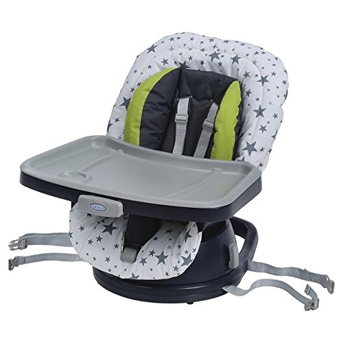 Graco SwiviSeat High Chair Booster Shine